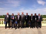 Делегация Карелсоюзстроя на Създе строителей Северо-Запада