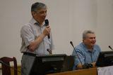 Открытие конференции. Михаил Рубин и Марат Гафитулин