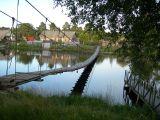 Мост через речку Сяпся