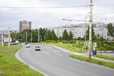 Древлянка - №46 - Проспект Лесной в районе сквера Утиный Пруд