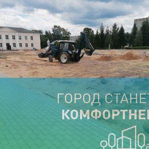 В Карелии продолжается благоустройство общественных территорий