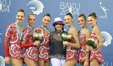 Наша воспитанница ЗМС Анастасия Максимова (вторая слева) в составе сборной команды России