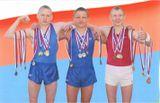 Наши медалисты - спортивные гимнасты!