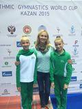 Ирина Лукина со своими чемпионками