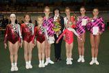 Отличник физической культуры и спорта Галина Редькина со своими воспитанницами