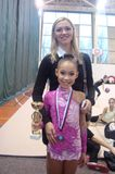 Тренер с чемпионкой Карелии