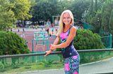 Ксения Гольдфейн - тренер по фитнес-аэробике. Её воспитанники - победители и призёры многих соревнований.