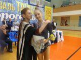Наталья Яковлевна Липнина с обладательницей кубка Юлией Акишиной