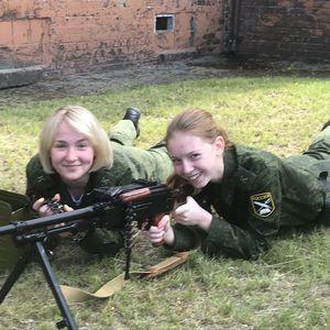 В гостях у военнослужащих