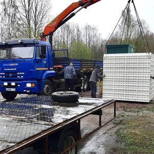 Очистные сооружения производительностью 6000 л/сут. для установки на туристической базе в Питкярантском районе