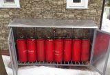 Расход сжиженного газа на отопление.