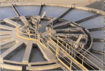 Флокуляционная ванна установки по очистке сточных вод