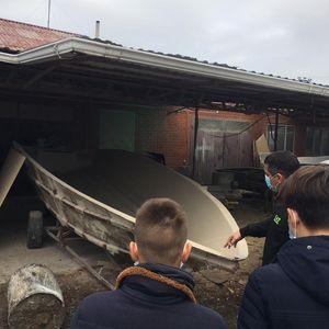 Профориентационная экскурсия на судостроительное предприятие ИП Цариценко А.Ю.