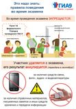Правила поведения во время экзамена