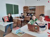 Момент из классного часа 8 класса