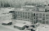 Строится поликлиника, 1980-е годы