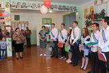 Поздравить выпускников пришла Кравченко Людмила Ильинична, проработавшая директором 19 летшколы